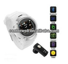2012 Beautiful White 1.3M Watch Phone for Chirstmas