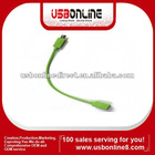 micro USB female to S3 male CABLE deep 23cm