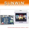 Real6410 + 7 inch LCD Arm11 Single Board Computer S3C6410 Board