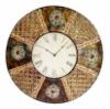 Antique Metal Decorative Clock
