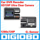 "HD 2.0"" Car DVR 4 LED Night vision/car Camera/car Video Recorder,car motion detection,Full HD720P"