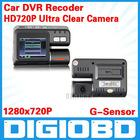 "HD 2.0"" Car DVR 4 LED Night vision/car Camera/car Video Recorder,car motion detection,Full HD720P"
