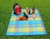 Outdoor Coral Fleece Picnic Korean Blanket(KN-BL-49)