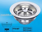 Stainless Steel Sink Strainer FTS-S07