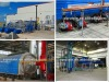 2012 environment friendly waste rubber tires recycling pyrolysis plant