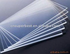clear acrylic pmma plexiglass board with any thickness and size