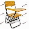 School chair for training or studying-with wrinting board