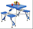 cheap picnic 4 seat folding table camping table