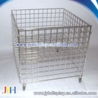 Bin - Wire dump bin with bottom wire shelf, KD version