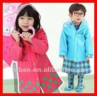 2012 New Fahion Raincoat Nylon Rainwear For Kids