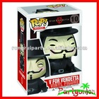 V For Vendetta Vinly Figure/ V For Vendetta POP/ Guy Fawkes Toys/ Doll