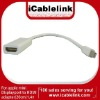 20cm Mini Displayport Male to HDMI Female Adapter Cable for MacBook, MacBook Pro, or MacBook Air