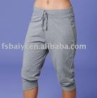 lady's sports 3/4 pants