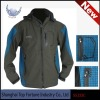 100% polyester soft outer shell jacket
