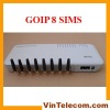 Good quality 8 SIMs GOIP8 VoIP GSM Gateway for IP PBX application one year warranty