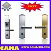 Fingerprint door lock with LCD display design for luxury appearance J1020