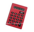 A4 size jumbo 8-digital calculator for promotion