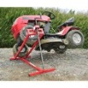 lawn mower stand