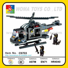 BLOCK,Toys ,Helicopter ,Black