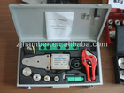PPR Pipes and Fittings Welding Machine Device with tools