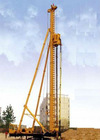 long helical drilling rig machine