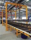 H beam welding line