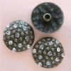 rhinestone rivet/decorative rivet/jeans rivet/button rivet/crystal rivet