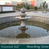 Natural stone fountain ball