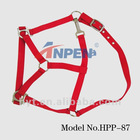 3/4'' PP Red Adjustable Webbing Horse Halter