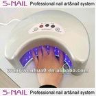 Hot 12W Half Moon Style led nail Lamp,12 W led nail curing lamp ,12W led nail uv lamp