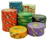 Ceramic poker chip with 11.5g 13.5g