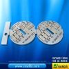 Double-sided MCPCB for LED bulb light