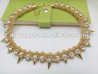 2013 fashion jewelery popular necklace /Manual necklace for Apparel