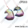 2012 New Arrival Hematite Rainbow Eagle Pendants for Necklace