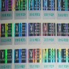 hologram sticker/ we can customise the different effect Hologram stickers