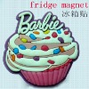 2012 New design ice cream plastic fridge magnet