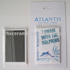 4c printing fish rectangle fridge magnet