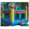 Hot inflatable castle slide fun