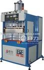 High frequency welding machine for welding sun visor/door panels