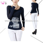 Lady Fashion T-shirt with crystal