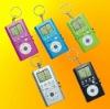 Mini Game & FM Radio with Key chain