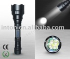 handheld IN-650-4C 500lm led torch light(camping/hiking/fishing/hunting)