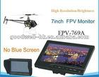 High Brightness 7 inch camera monitor FPV Aerial Photography w/ Sun shade