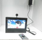 7 inch retail store/supermarket motion sensor activated small lcd media video monitor ,shelf lcd digital display,advertising tv