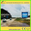 highway RGB led advertising sign boards P12C / full color LED boards