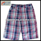 fashion plaid pants for men made in guangzhou china