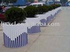 PVC guardrail highway guardrail railway guardrail