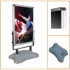 Water-base aluminum outdoor poster stand
