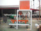 Automatic packing and sealing machine for granule materials