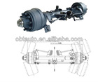 OBT self steering semi trailer axle